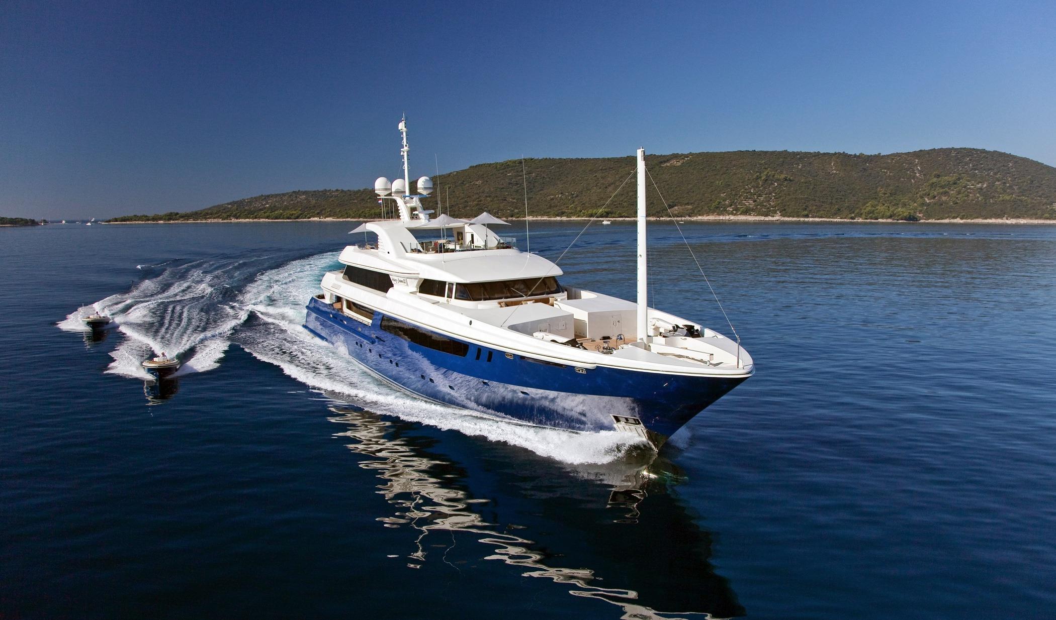 MY Mary-Jean II   Mark Berryman Yacht Design